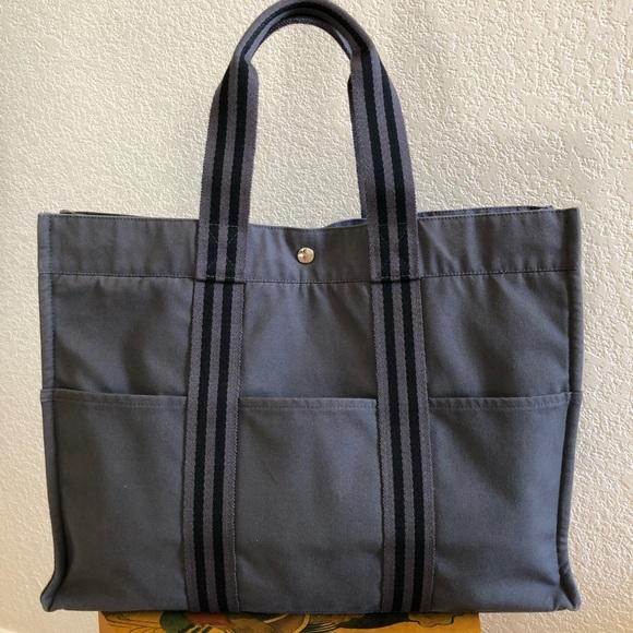 f4893f88946 Hermes Bags   Authentic Herms Foure Tout Canvas Handbag   Poshmark